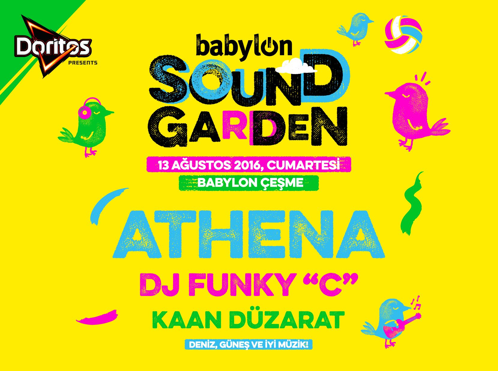 Doritos Presents: Babylon Soundgarden Çeşme 2016