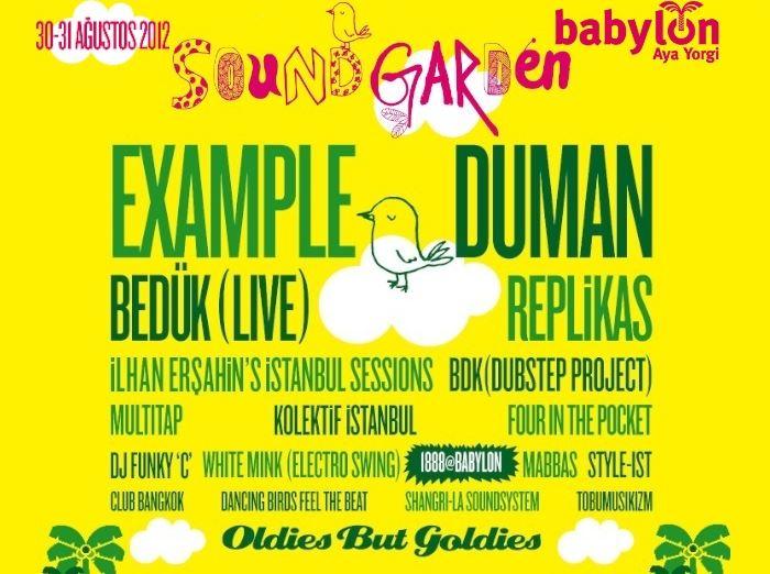 Babylon Soundgarden Çeşme 2012 - 2. Gün