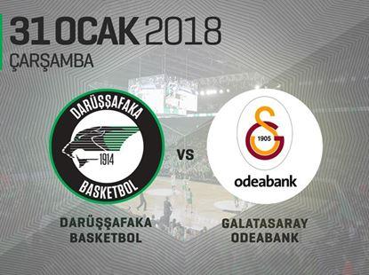 Darüşşafaka Basketbol – Galatasaray Odeabank 7Days Euro Cup