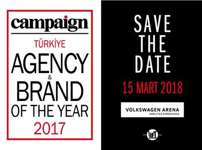 Campaign Agency & Brand of the Year Volkswagen Arena'da