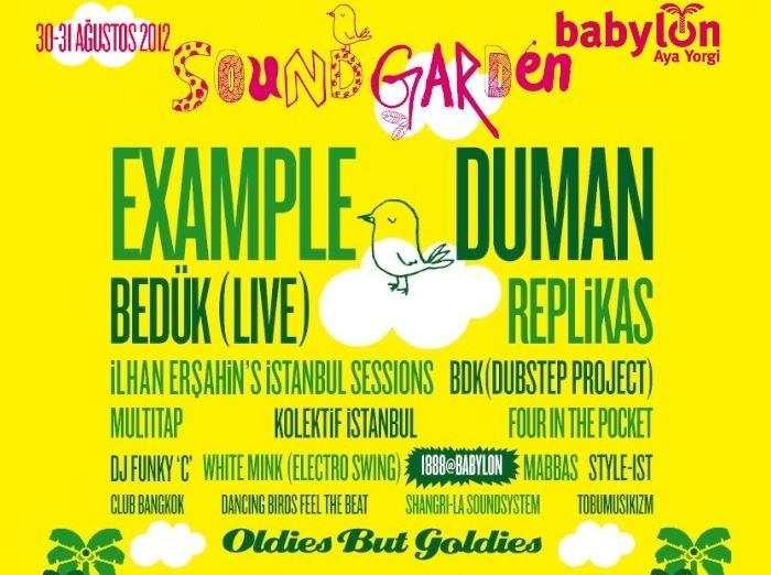 Babylon Soundgarden Çeşme 2012 - 1. Gün