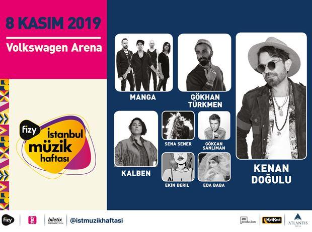 fizy İstanbul Müzik Haftası-8 Kasım