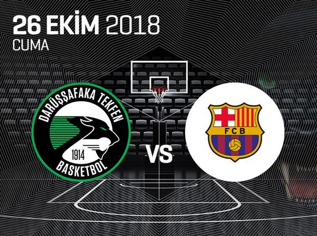 Darüşşafaka Tekfen Basketbol - Barcelona Lassa