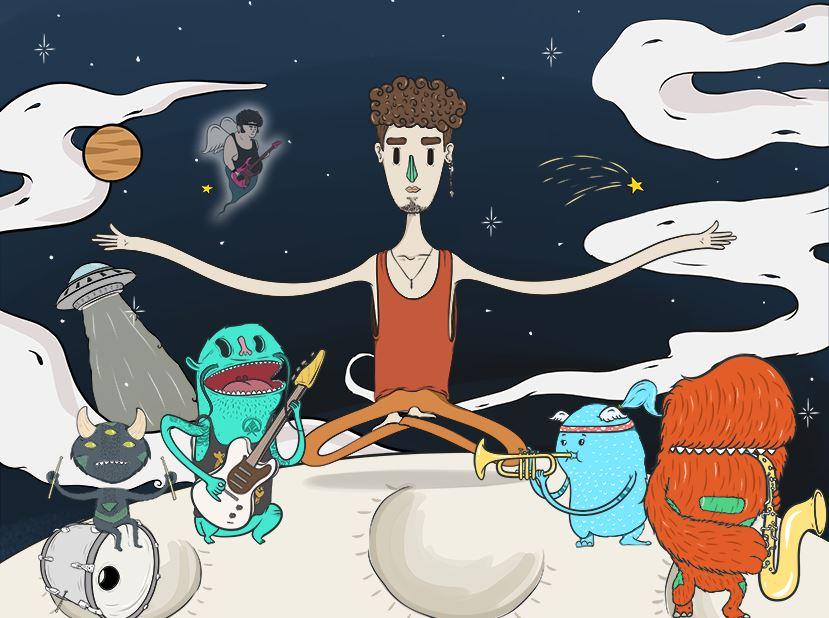Evrencan ve Uzaylılar (İlk albüm, ilk konser)