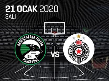 Darüşşafaka Tekfen - Partizan Nis Belgrade
