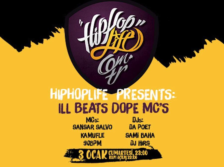 Hiphoplife Presents: Ill Beats Dope MCs