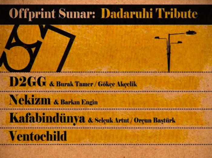 Offprint Sunar: Dadaruhi Tribute