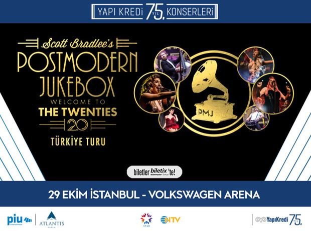Yapı Kredi 75th Year Concerts: Postmodern Jukebox