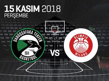 Darüşşafaka Tekfen - AX Olimpia Milano