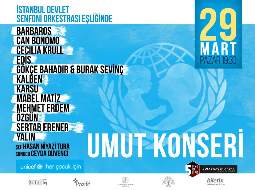 UNICEF Umut Konseri