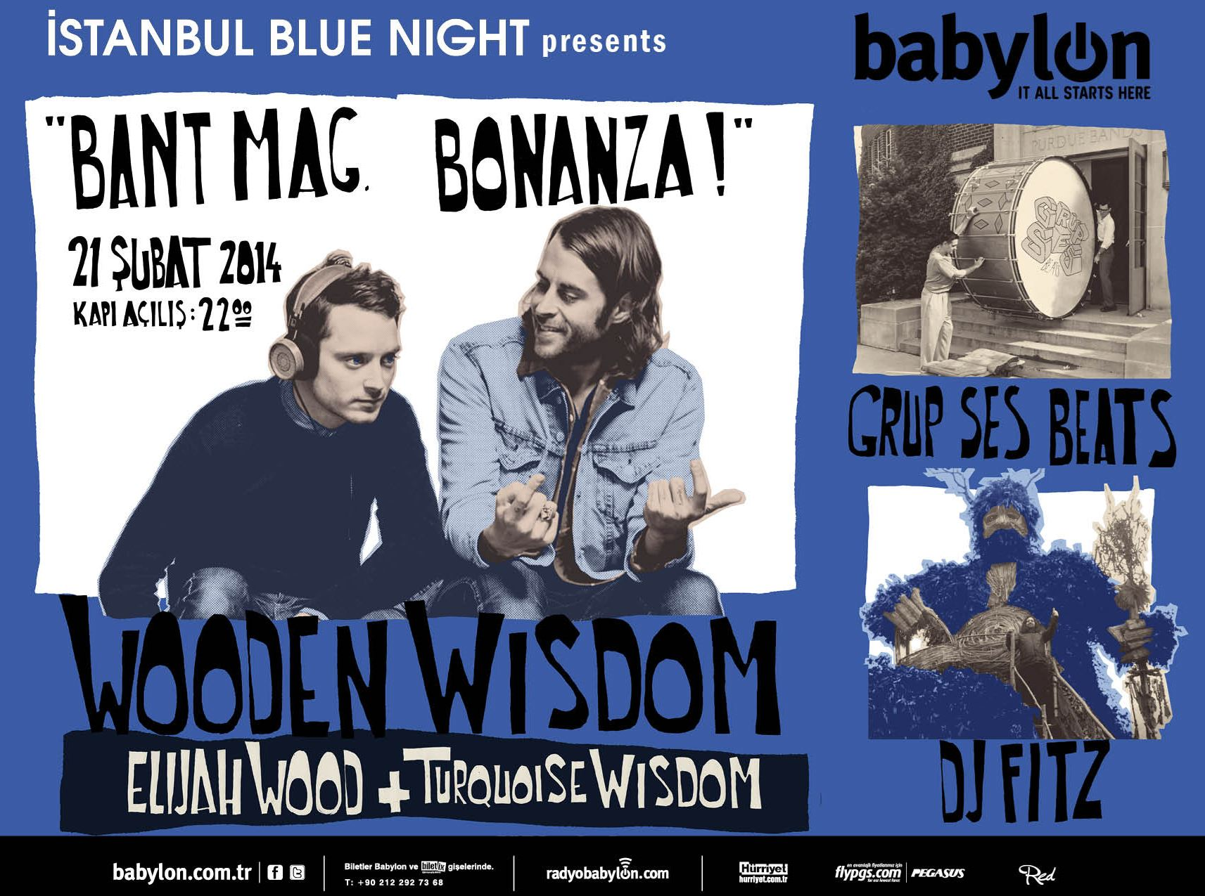 İstanbul Blue Night Presents: BANT MAG. BONANZA