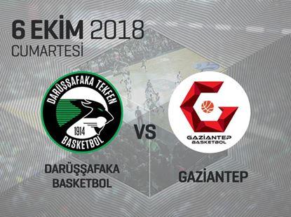 Darüşşafaka Tekfen - Gaziantep Basketball