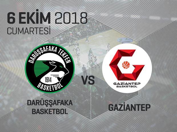 Darüşşafaka Tekfen - Gaziantep Basketbol