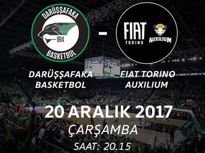 Darüşşafaka Basketbol - Fiat Torino