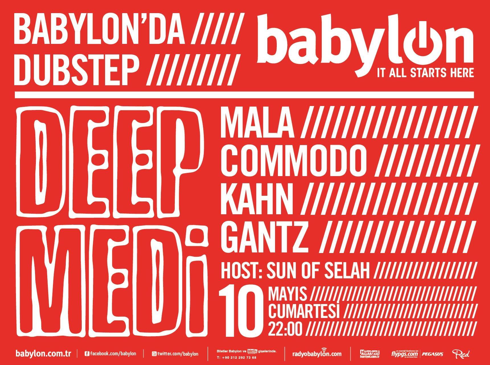Deep Medi Label Night: Mala, Commodo, Kahn, Gantz