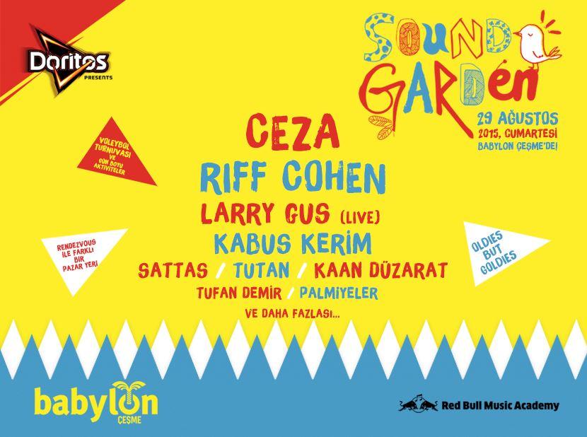 Doritos Presents: Babylon Soundgarden Çeşme 2015