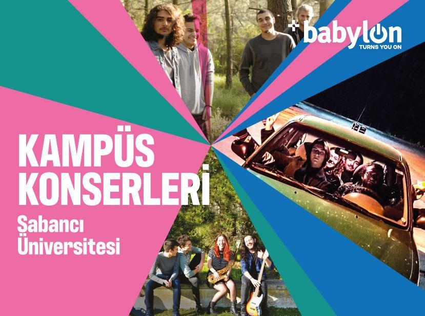 Kampüs Konserleri: Sabancı Üniversitesi