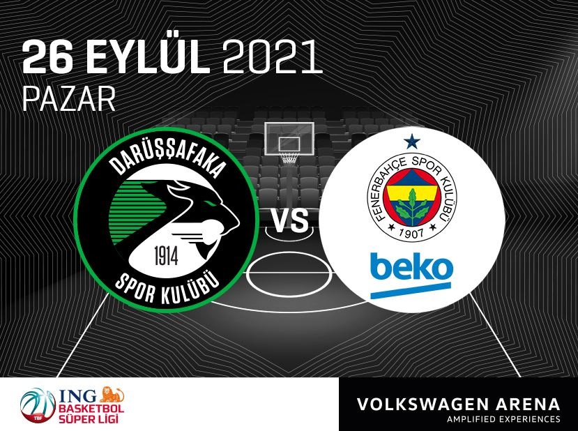 Darüşşafaka Spor Kulübü - Fenerbahçe Beko
