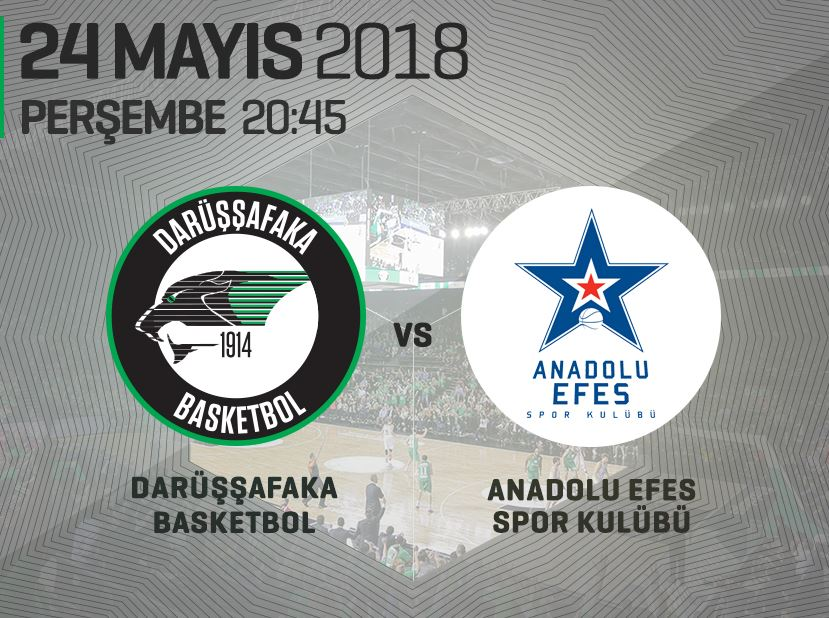 Darüşşafaka Basketbol – Anadolu Efes