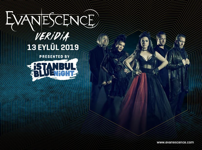 İSTANBUL BLUE NIGHT PRESENTS: Evanescence