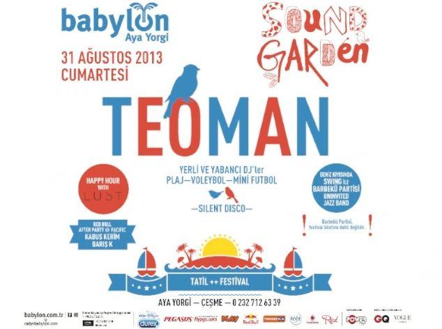 Babylon Soundgarden Çeşme 2013