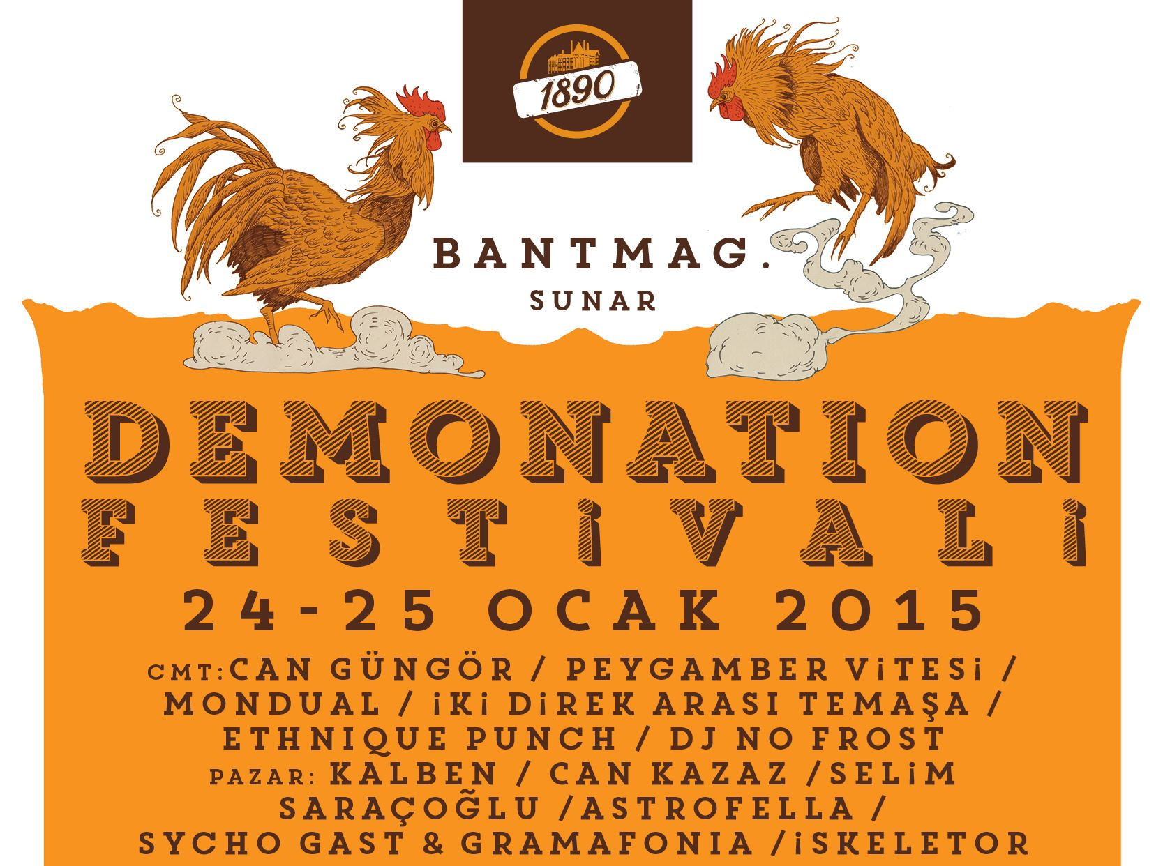 Bant Mag presents: Demonation Festival No:5 - 1st Day