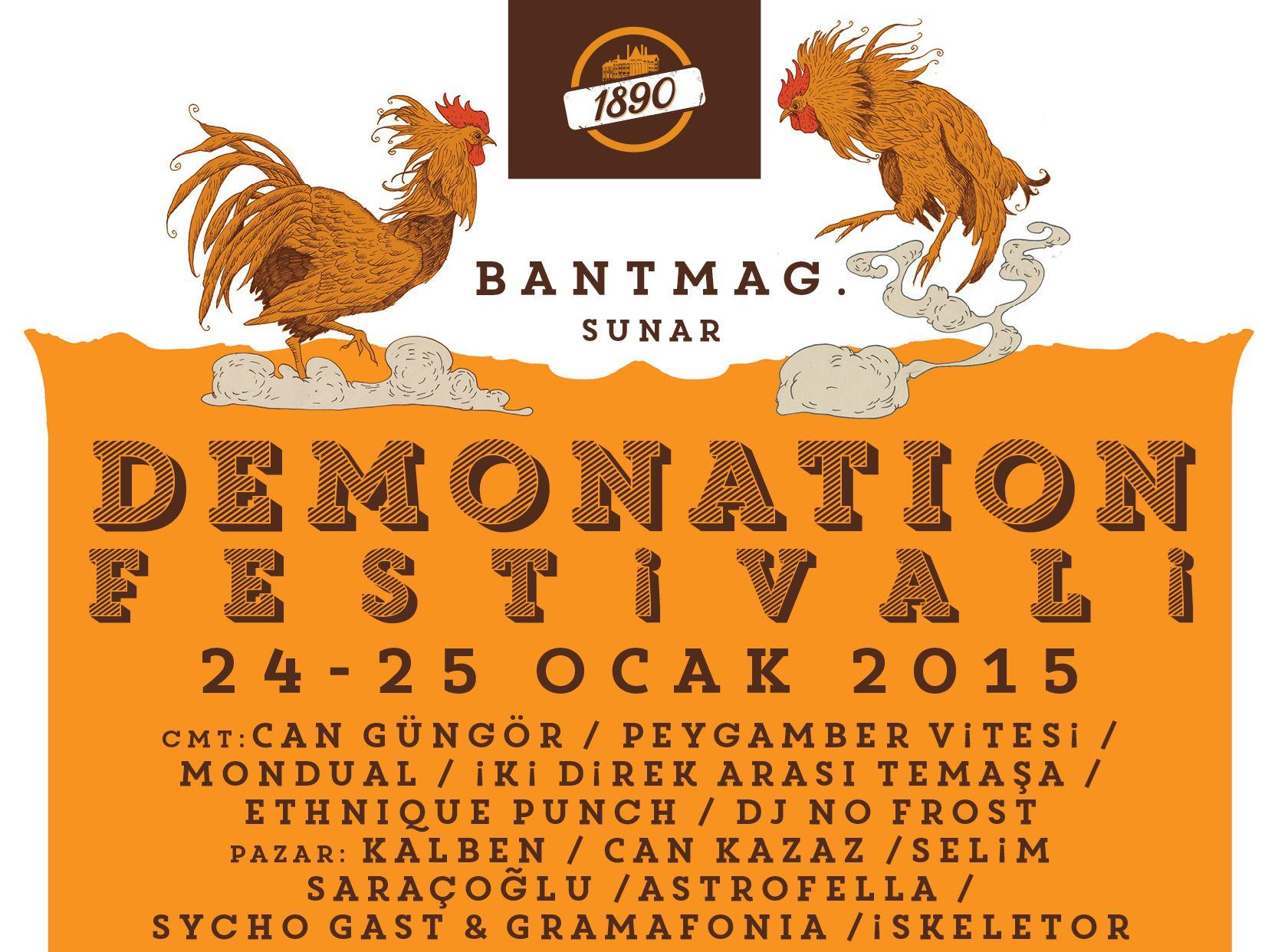 Bant Mag sunar: Demonation Festivali No:5 - 1. Gün