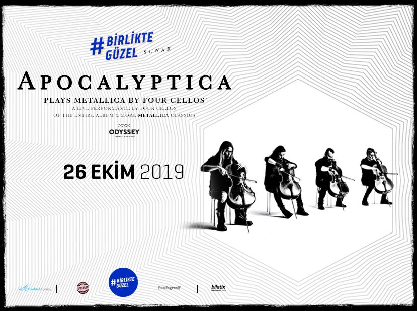 Birlikte Güzel Sunar: Apocalyptica Plays Metallica By Four Cellos