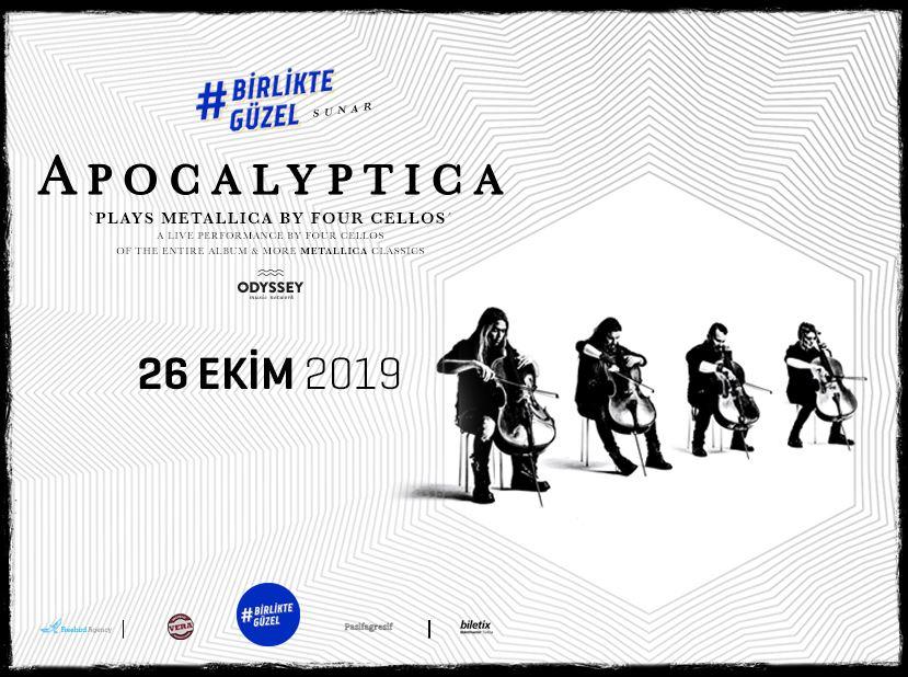 Birlikte Güzel presents: Apocalyptica Plays Metallica By Four Cellos
