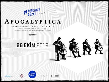 Birlikte Güzel presents: Apocalyptica Plays Metallica By Four Cellos