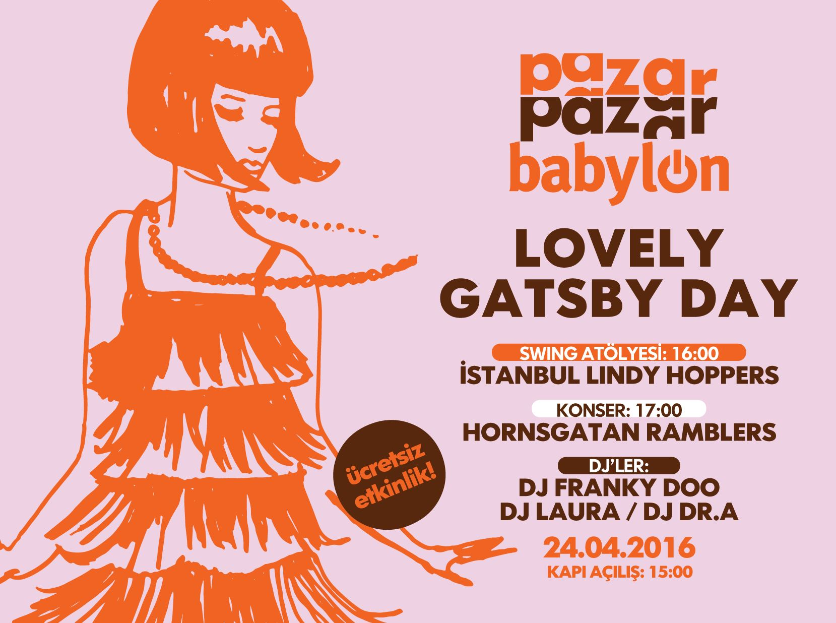 Pazar Pazar Babylon: Lovely Gatsby Day
