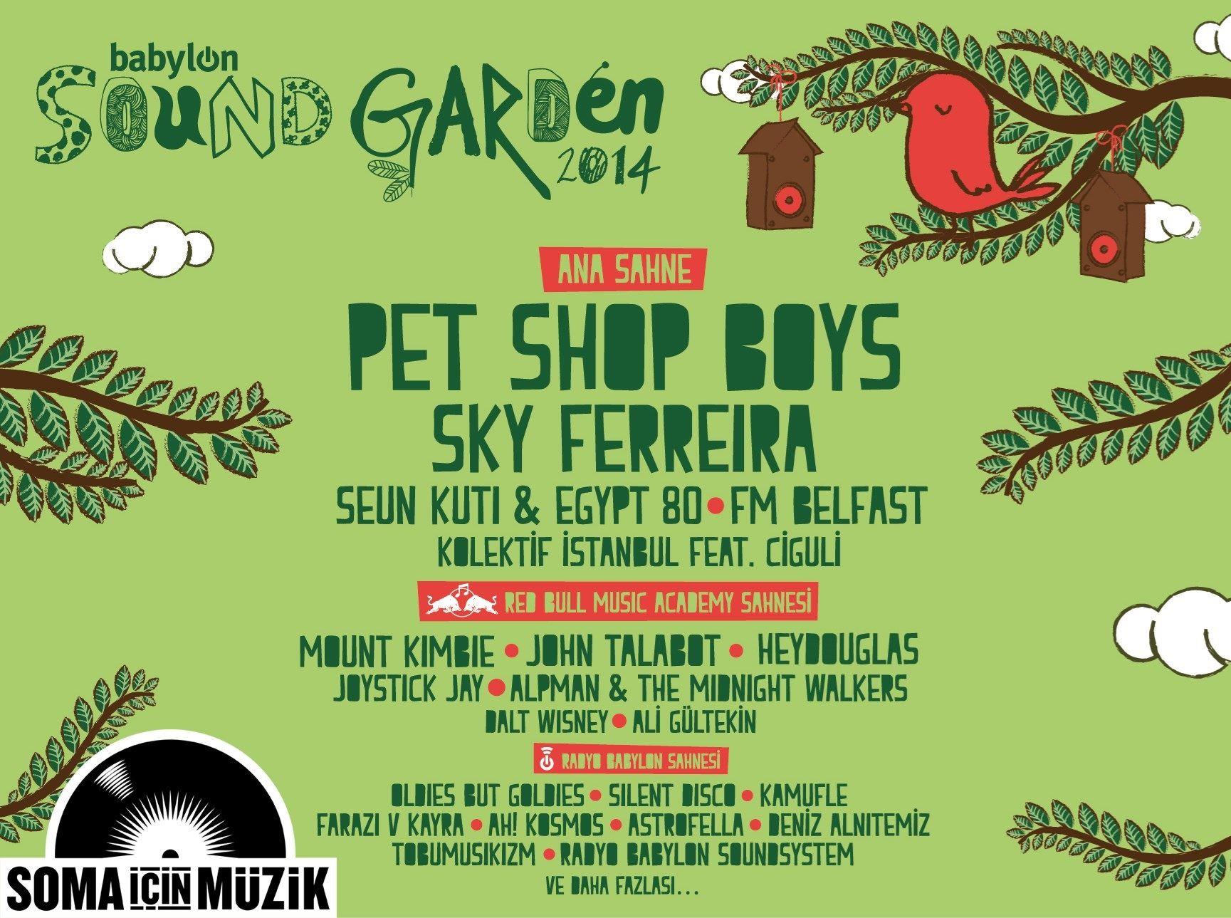 Babylon Soundgarden İstanbul 2014