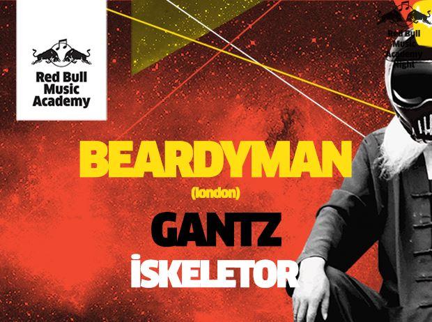 RBMA Sunar : Beardyman  - Gantz – Iskeletor
