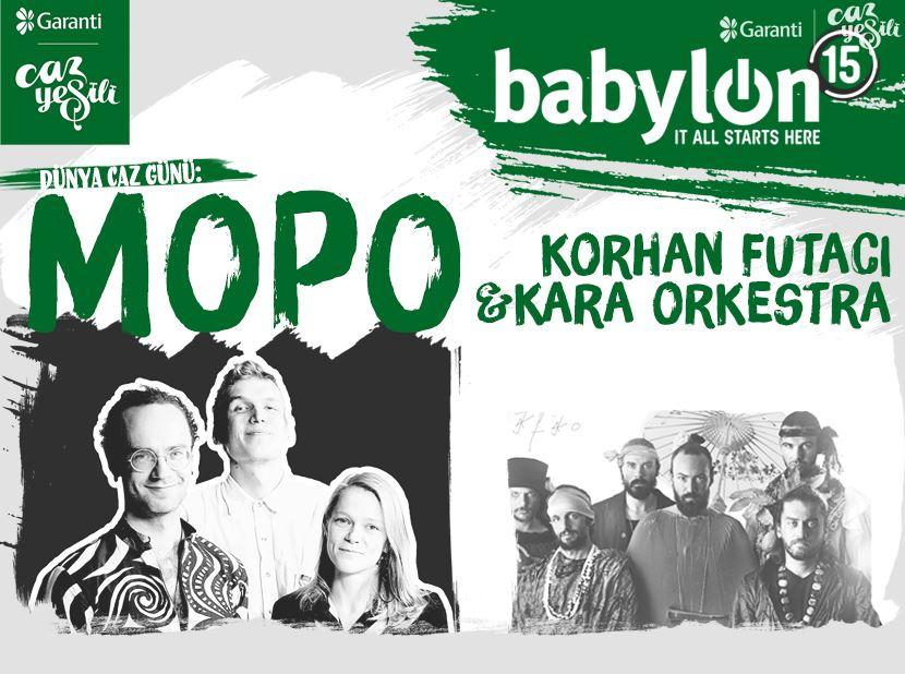 Uluslararası Caz Günü: Mopo & Korhan Futacı ve Kara Orkestra