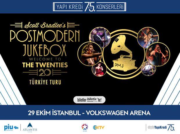 Yapı Kredi 75. Yıl Konserleri: Postmodern Jukebox