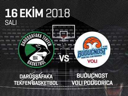Darüşşafaka Tekfen Basketbol – KK Budućnost Podgorica