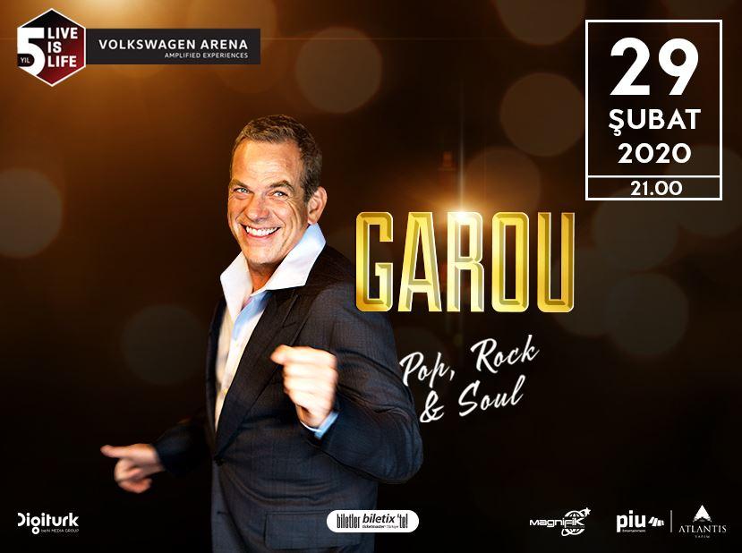 Garou - Pop, Rock & Soul