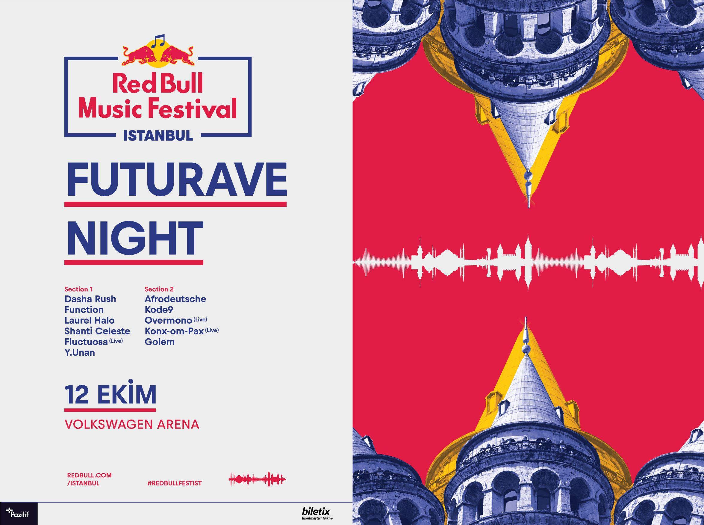 Red Bull Music Festival Istanbul: Futurave Night