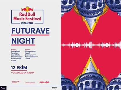 Red Bull Music Festival Istanbul: Futurave Night