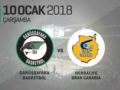 Darüşşafaka Basketbol – Herbalife Gran Canaria