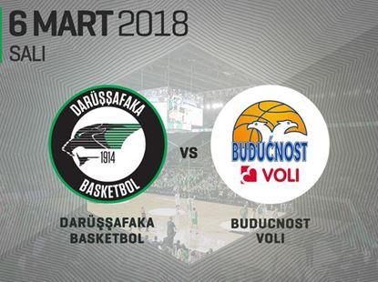 Darüşşafaka Basketbol – Buducnost Voli Podgorica