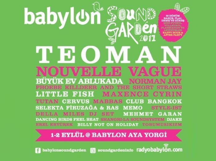 Babylon Soundgarden 2011 - 1. Gün
