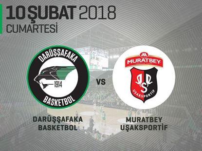 Darüşşafaka Basketbol - Muratbey Uşak