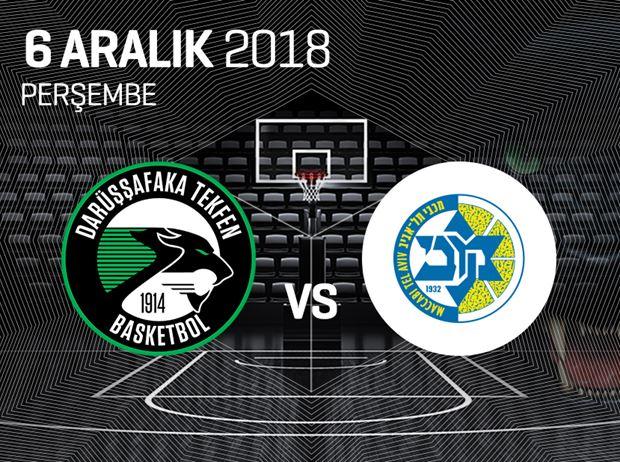 Darüşşafaka Tekfen - Maccabi Tel Aviv
