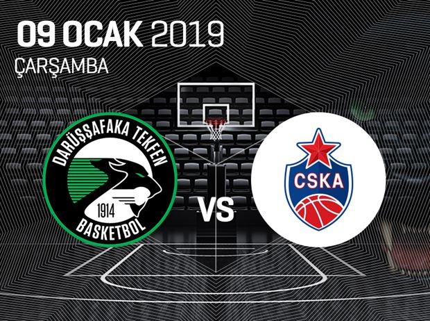 Darüşşafaka Tekfen - CSKA Moscow