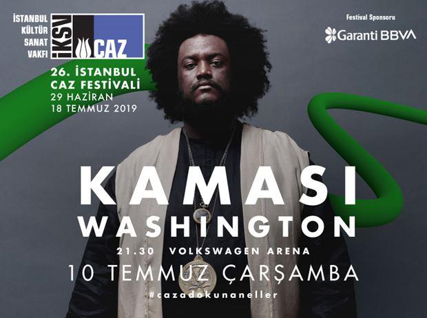 26th İstanbul Jazz Festival: Kamasi Washington