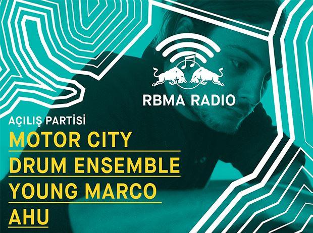 RBMA Radio Istanbul: Motor City Drum Ensemble, Young Marco, Ahu