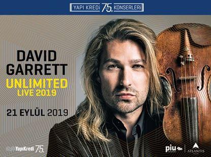 Yapı Kredi 75. Yıl Konserleri: David Garrett-Unlimited Live 2019
