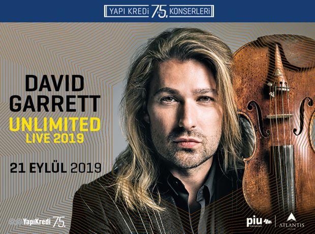Yapı Kredi 75th Anniversary Concerts: David Garrett-Unlimited Live 2019